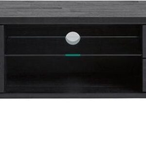 24Designs Rafael TV-meubel - B165 X D45 X H50 Cm - Acaciahout - Metaal - Zwart
