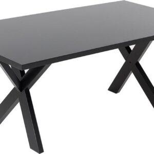 Beliani LISALA - Eettafel - Zwart - MDF
