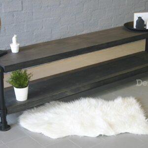 Design85 - steigerbuis - tv meubel - zwart