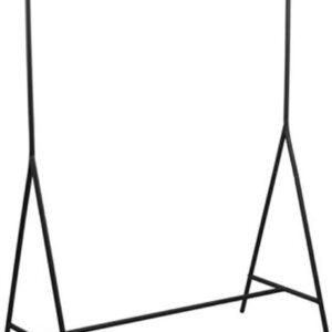 Lisomme industrieel kledingrek Rick - H154xB109 cm - Zwart