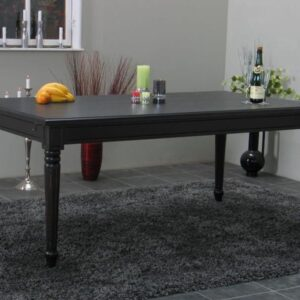 Mozart - Eettafel - 180x100cm - zwart