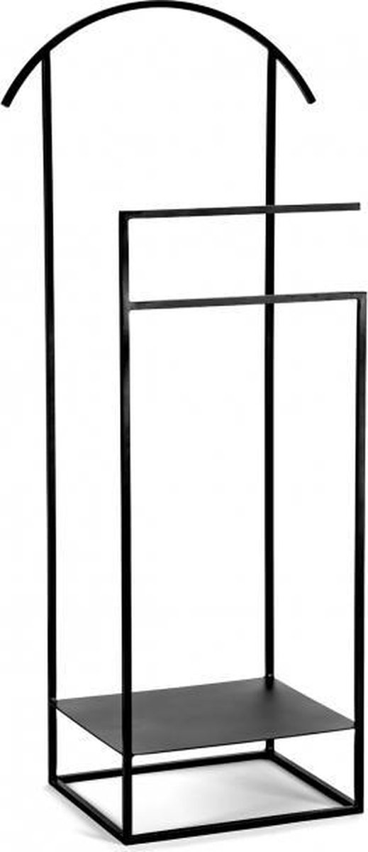 Serax dressboy kledingrek display zwart staal H110