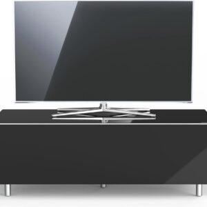 Spectral Just-Racks JRL1100T-BG   tv-meubel in hoogglans zwart - 1.10m breed
