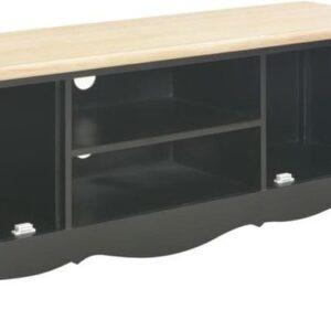 vidaXL Tv-meubel 120x30x40 cm hout zwart VDXL_249891