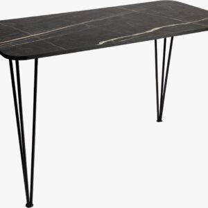 ⭐ Derin's Marmeren eettafel   Salontafel   Zwart   Marmer   Hout   Rechthoekig   6 personen   Vierkant   Industrieel   Metaal   72 x 70 x 140 cm