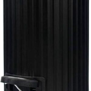 4Goodz pedaalemmer prullenbak Classic 3 liter - Zwart
