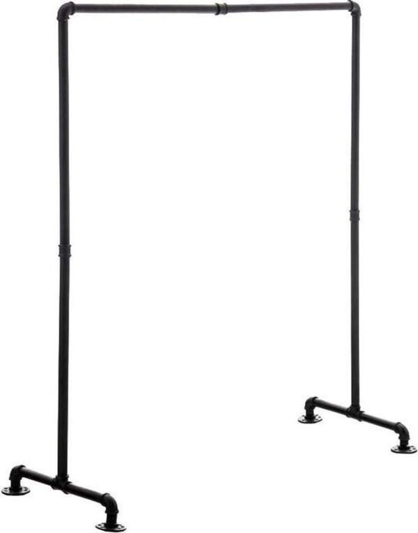 Clp Jersey - Kledingrek - metaal - zwart 120 cm