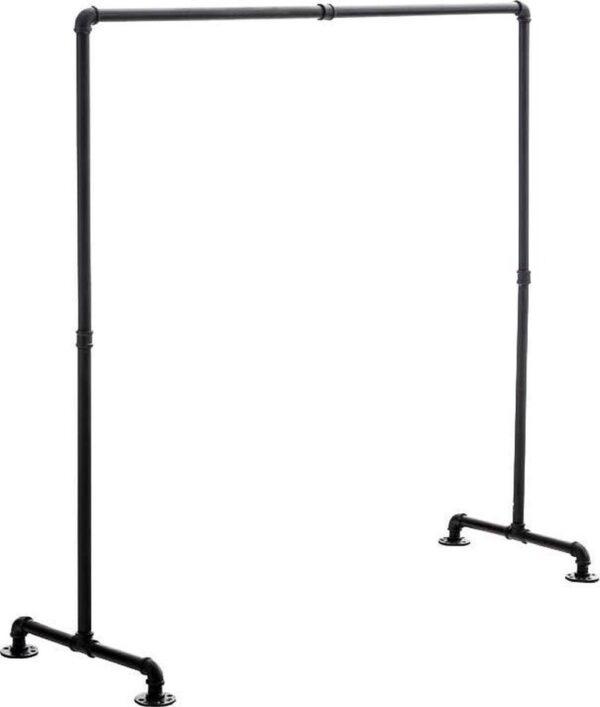 Clp Jersey - Kledingrek - metaal - zwart 150 cm