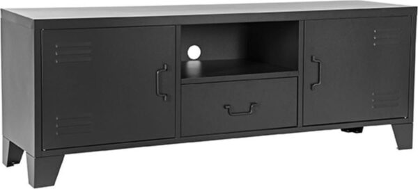 LABEL51 Fence Tv meubel - Zwart - Metaal