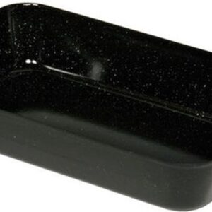 Ovenschaal met handgrepen zwart - Emaille - 33 cm met handgreep - 33 cm - Keuken - Pannenset - Riess - Overschotel - Emaille - Nikkelallergie