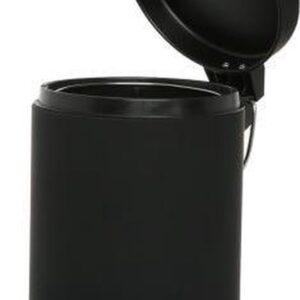 Pedaalemmer - 3 liter - Prullenbak - Avalbak - Zwart