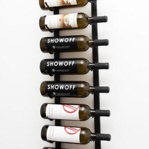 VintageView ''Nine'' Wijnrek - 91,5 x 13,4 x 33 cm - Zwart - 9 flessen