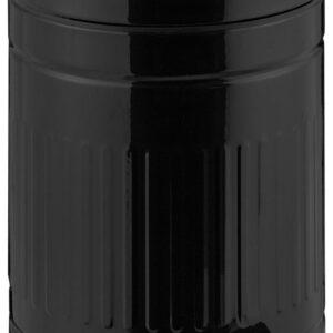 relaxdays pedaalemmer 5 liter - softclose - kleine prullenbak - vuilnisbak keuken - rond zwart