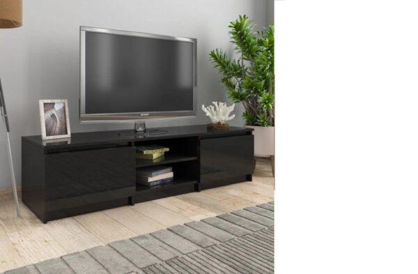 {NEW} Tv meubilair - Spaanplaat - Hoogglans Zwart - Kast - Designer - Meubel - TV - Woonkamer - Slaapkamer - Nieuwste Collectie
