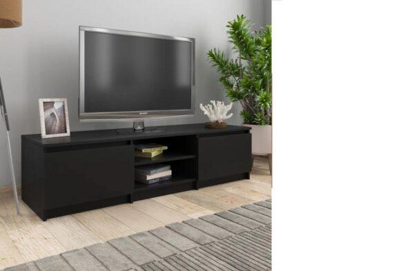 {NEW} Tv meubilair - Spaanplaat - Zwart - Kast - Designer - Meubel - TV - Woonkamer - Slaapkamer - Nieuwste Collectie