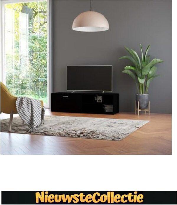 {NEW OP=OP!! } Tv meubilair - Spaanplaat - Zwart - Kast - Designer - Meubel - TV - Woonkamer - Slaapkamer - Nieuwste Collectie