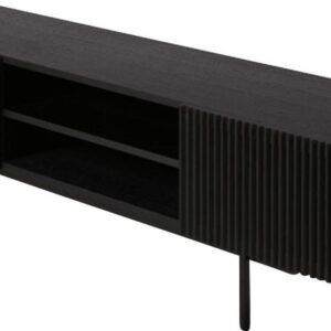 YOKU TV-meubel - Zwart Eikenhout - 180 x 45 cm