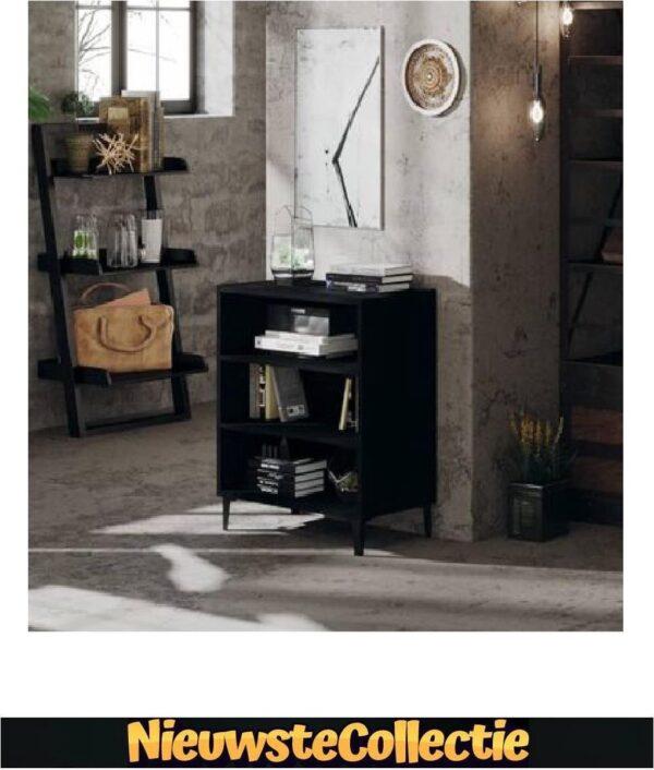(LIMITED EDITION ) DRESSOIR - Zwart - Spaanplaat - Nachtkast - Dressoir - Tv meubel - Luxe - Rechthoek - Nieuwste Collectie